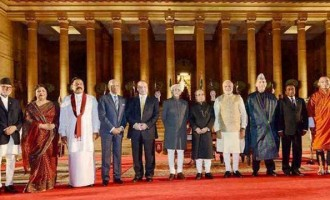 The visiting leaders from SAARC countries and Mauritius, were here for the swearing-in of Modi as India's 15th Prime Minister.