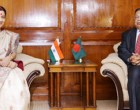 External Affairs Minster meets Foreign Minister Abul Hasan Mahmood Ali of Bangladesh in Dhaka 
