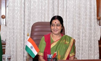 Sushma meets Hungarian counterpart, discuss trade
