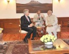 The US Deputy Secretary of State, William Burns calls on the Prime Minister, Narendra Modi