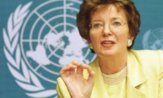 UN chief appoints former Irish president Mary Robinson envoy on climate change
