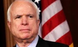 US senator McCain to meet Indian Foreign Minister Sushma Swaraj