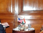 US Deputy Secretary of State William Burns meets Smt. Sushma Swaraj, External Affairs Minister