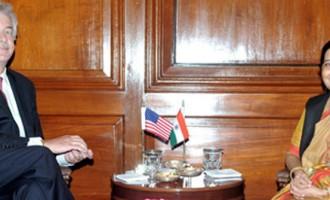 US Deputy Secretary of State William Burns meets Smt. Sushma Swaraj, External Affairs Minister