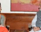 COO Facebook, Sheryl Sandberg calling on the Prime Minister, Narendra Modi