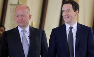 British Foreign Secretary William Hague Meets Modi, Sushma To Boost Indo UK Trade ties