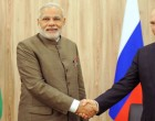 Prime Minister, Shri Narendra Modi at a bilateral meeting with the President of the Russian Federation, Mr. Vladimir Putin, on the sidelines of the Sixth BRICS Summit, in Fortaleza, Brazil