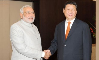 Prime Minister, Shri Narendra Modi at a bilateral meeting with the President of the People's Republic of China, Mr. Xi Jinping, on the sidelines of the sixth BRICS Summit, at Fortaliza, Brazil