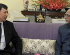 Ambassador of Vietnam to India, Nguyen Thanh Tan calling on the Vice President, Mohd. Hamid Ansari