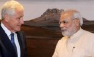 India-US defence, strategic ties get fillip as Hagel meets Modi