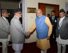 Indian Prime Minister Narendra Modi invites Nepal PM Koirala to visit India