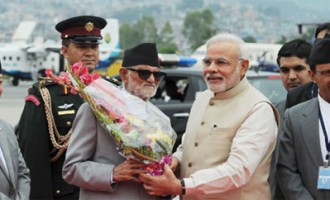 India, Nepal hold talks after Modi's grand welcome
