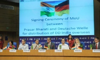 State owned broadcaster Prasar Bharati signs a MoU with Deutsche Welle , Germany