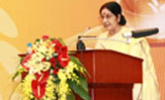 India for greater transport connectivity with ASEAN : Sushma