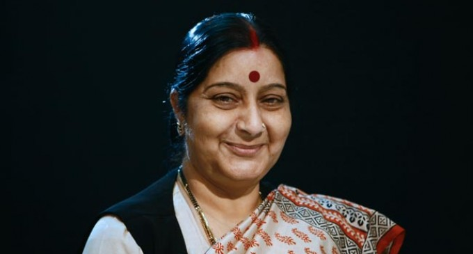 Sushma Swaraj leaves for Saarc meeting in Nepal