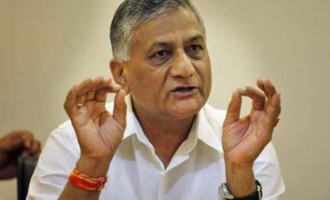V.K. Singh leads mission to evacuate Indians from South Sudan