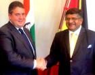 Ravi Shankar Prasad meets German vice chancellor