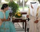 External Affairs Minister calls on HRH Khalifa bin Salman bin Hamad Al Khalifa, Prime Minster of the Kingdom of Bahrain