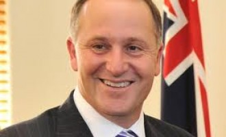 PM congratulates John Key on re-election as PM of New Zealand