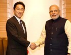 Minister of Foreign Affairs of Japan, Mr. Fumio Kishida calling on the Prime Minister, Shri Narendra Modi, in Tokyo, Japan