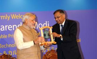 Return as India's envoys, Modi to India-bound Japanese youth