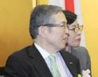 Prime Minister, Shri Narendra Modi meeting the CEO of Nidec Corporation, Mr. Shigenobu Nagamari, in Kyoto, Japan