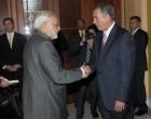 The Prime Minister, Narendra Modi meeting the Speaker of the United States House of Representatives, John Boehner
