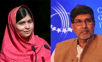 India's Kailash Satyarthi shares Peace Prize with Pakistan's Malala