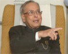 Indian President Mukherjee arrives in Norway