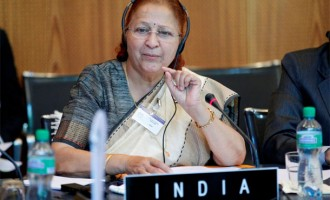 People should help end gender bias : Lok Sabha Speaker Sumitra Mahajan