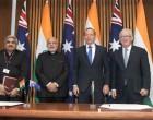 India, Australia agree on new security cooperation framework