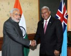 India seeks closer ties with Fiji, South Pacific Islands