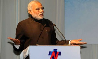 Frame constitution early, with consensus: Modi urges Nepal