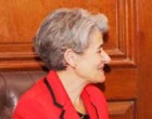 Director General of UNESCO, Irina Bokova meeting with External Affairs Minister Sushma Swaraj