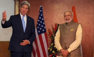 Modi, Kerry warm hug indicator of relations