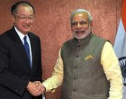 The Prime Minister, Narendra Modi meeting the President of World Bank, Jim Yong Kim, in Gandhinagar, Gujarat on January 11, 2015.