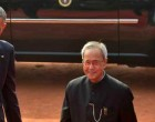 US President Barack Obama with the President Pranab Mukherjee & Prime Minister Narendra Modi at Ceremonial Reception