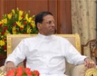 Sri Lankan President Maithripala Sirisena calling on Indian President Pranab Mukherjee