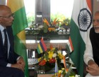 Chief Justice of Mauritius Kheshoe Parsad Matadeen meeting the Prime Minister Narendra Modi