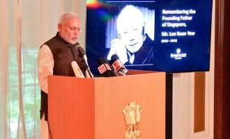 Lee was the tallest leaders of our times : PM Modi