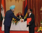 India inks five pacts with Mauritius, offers $500 mn credit
