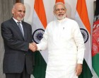 The Prime Minister, Narendra Modi with the President of the Islamic Republic of Afghanistan, Dr. Mohammad Ashraf Ghani