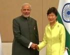 Modi meets South Korean president
