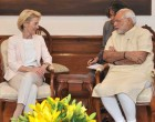 The Federal Defence Minister of Germany, Dr. Ursula von der Leyen calls on the Prime Minister, Narendra Modi