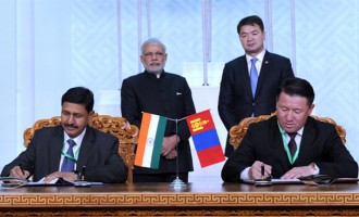 Modi on historic visit to Mongolia; offers $1 bn credit
