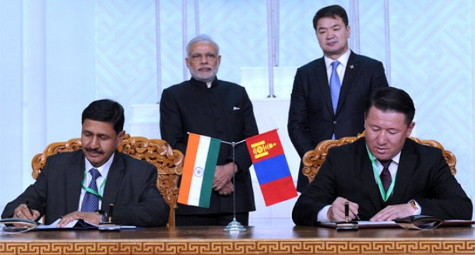 Modi visit: India, Mongolia stress 'bonds of hearts and minds'