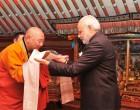 PM Modi visits Gandan Monastery in Mongolia, presents Bodhi sapling
