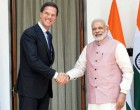 The Prime Minister, Narendra Modi meeting the Prime Minister of the Netherlands, Mark Rutte, in New Delhi.