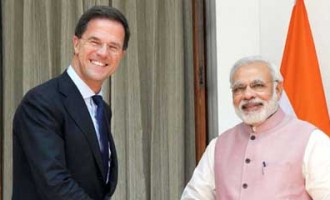 Modi, Rutte greet each other in Hindi, Dutch