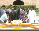 The President of the United Republic of Tanzania, Jakaya Kikwete and the First lady of Tanzania, Salma Kikwete